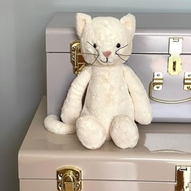 Jellycat Bashful Cream Kitten Medium Soft Toy