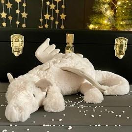 Jellycat Snow Dragon Medium Soft Toy