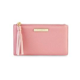 Katie Loxton Personalised Sophia Tassel Fold Out Purse In Pink