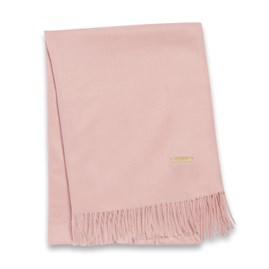Katie Loxton Wrapped Up In Love Boxed Scarf In Deep Blush Pink
