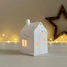 Porcelain Treehouse Tealight Holder