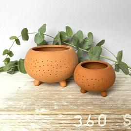 Terracotta Outdoor Tealight Holder