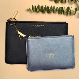 Katie Loxton Personalised 'Happy Birthday!' Perfect Pouch Gift Set