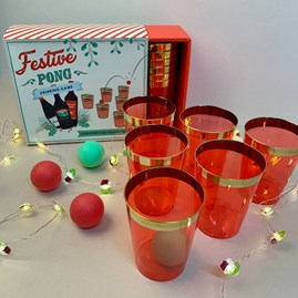 Festive Pong Drinking Game