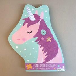 Unicorn 40 Piece Shaped Jigsaw Puzzle