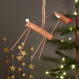 Reindeer Hanging Christmas Decoration