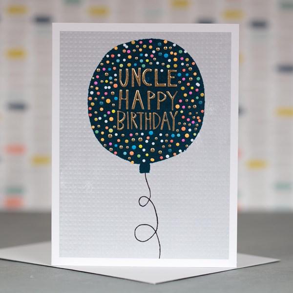 'Uncle Happy Birthday' Greetings Card