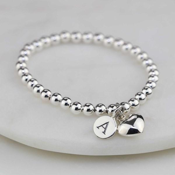 c520ef9bd7 Personalised Children's Silver Heart Bracelet