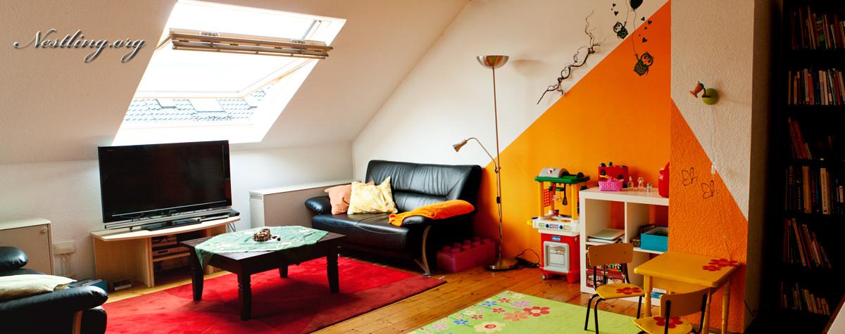 Spielecke im wohnzimmer nach montessori nestling - Mini wohnzimmer ...