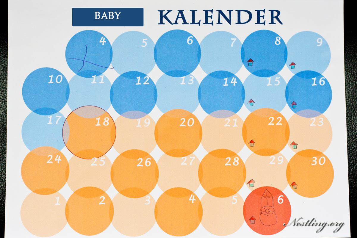 Baby-Kalender