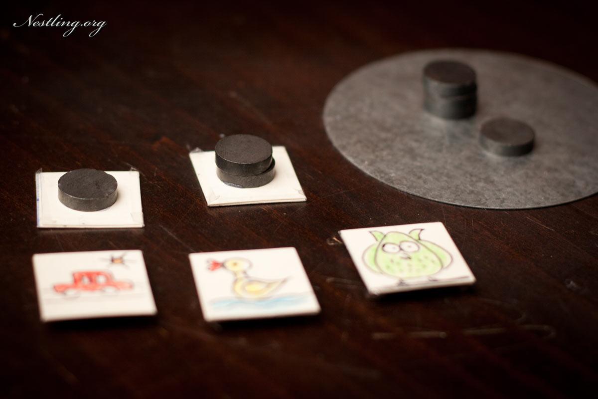 Symbol-Magnete