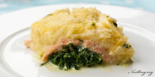 Lachs-Spinat-Kartoffel