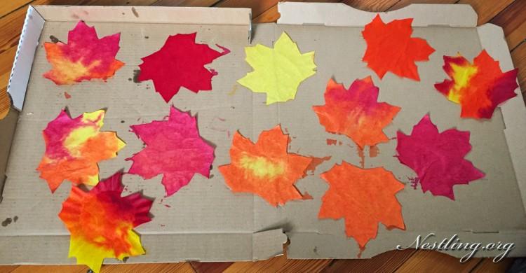Herbststimmung Basteln Mit Kindern Nestling