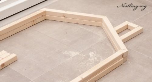 Kinderbett haus selber bauen  Bodenbett für Kinder (Floor Bed) selber bauen - Nestling