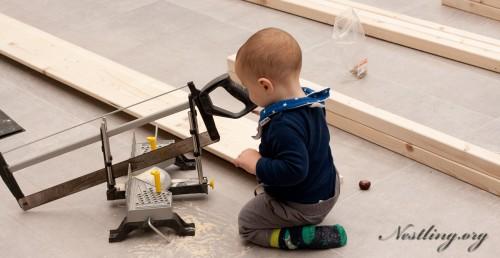 bodenbett f r kinder floor bed selber bauen nestling. Black Bedroom Furniture Sets. Home Design Ideas
