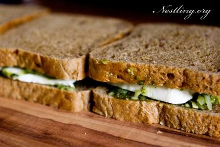Mozarella-Sandwich