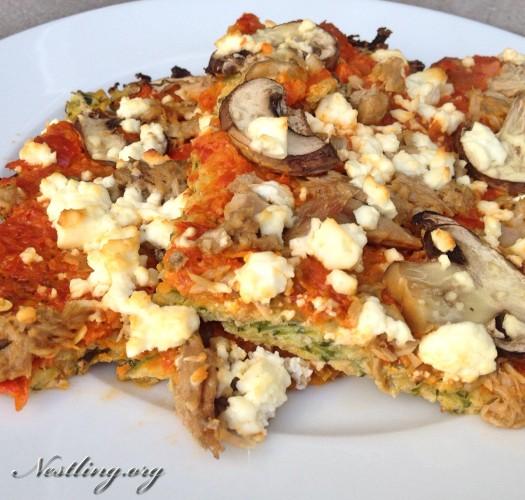 zucchinipizza-lowcarb