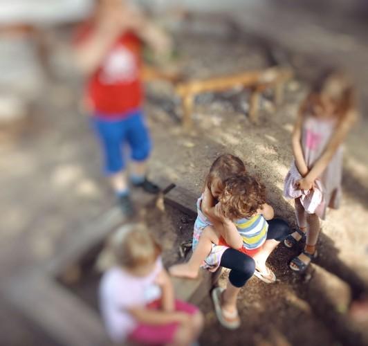 Kindergarten-Abschied