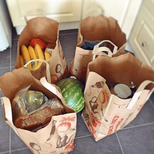 Erstes Shopping