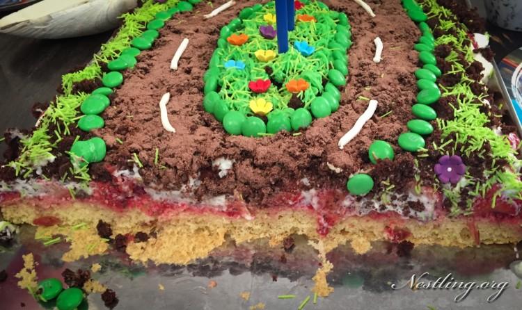 Auto-Geburtstagskuchen