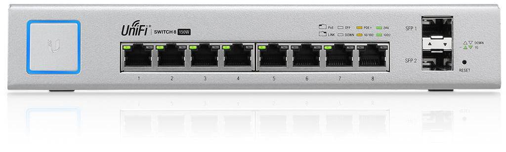 Ubiquiti US-8-150W 8 port PoE Switch