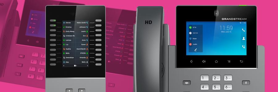 Grandstream release new GXV3350 Video Phone & GBX20 Module