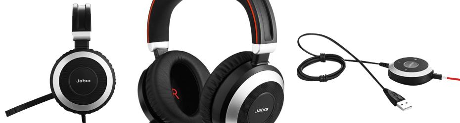 Jabra Evolve 80 Headsets