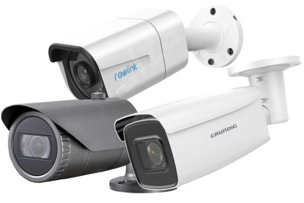We compared these IP cameras. Which was best? Reolink, Wisenet, Grundig
