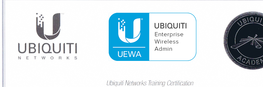 NetXL are officially Ubiquiti enterprise wireless admin certified