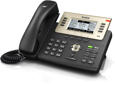 Yealink SIP-T27PN HD 6 Line / 6 Account, SIP/ VoIP IP Phone - Reduced