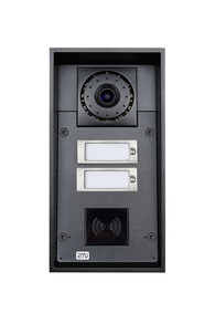 2N Helios IP Force: 2 Buttons & Camera (RFID Ready)