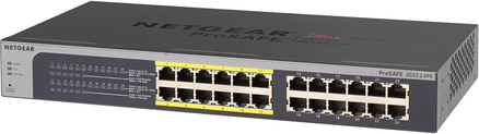 Netgear ProSAFE JGS524PE 24 ports switch with PoE