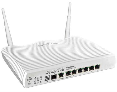 DrayTek Vigor 2860n Plus Triple-WAN WiFi Router