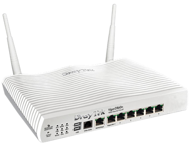 DrayTek Vigor 2860n Triple-WAN WiFi Router VPN & 3G/4G LTE Support
