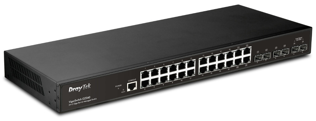 Draytek VigorSwitch G2260 Gigabit Ethernet switch