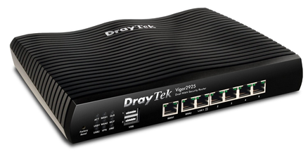 DrayTek Vigor 2925n Triple-Wan WiFi Broadband Router w/ VPN & 3G/4G