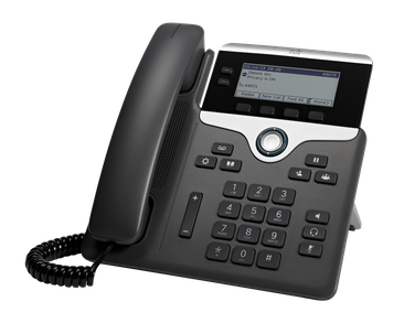 Cisco 7821 IP Phone 2 line / 2 SIP Account (SIP ONLY)
