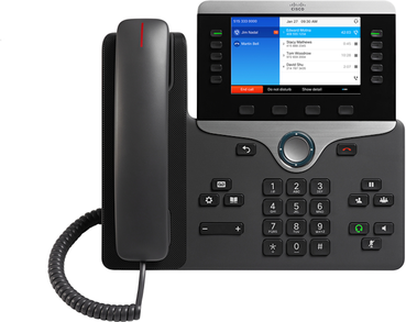 Cisco 8841 IP Phone 5 line / 5 SIP Accounts (SIP ONLY)