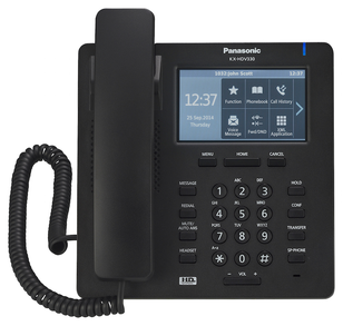 Panasonic KX-HDV330 IP Desk Phone Black