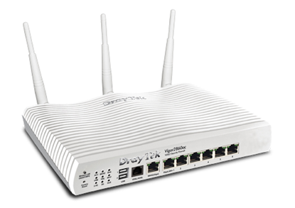 Yay.com Store - DrayTek Vigor 2860ac Triple-WAN WiFi Router VPN & 3G/4G LTE Support