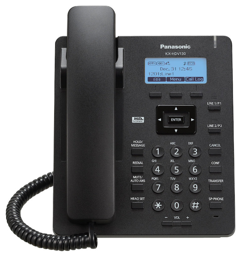 Panasonic KX-HDV130 IP Desk Phone