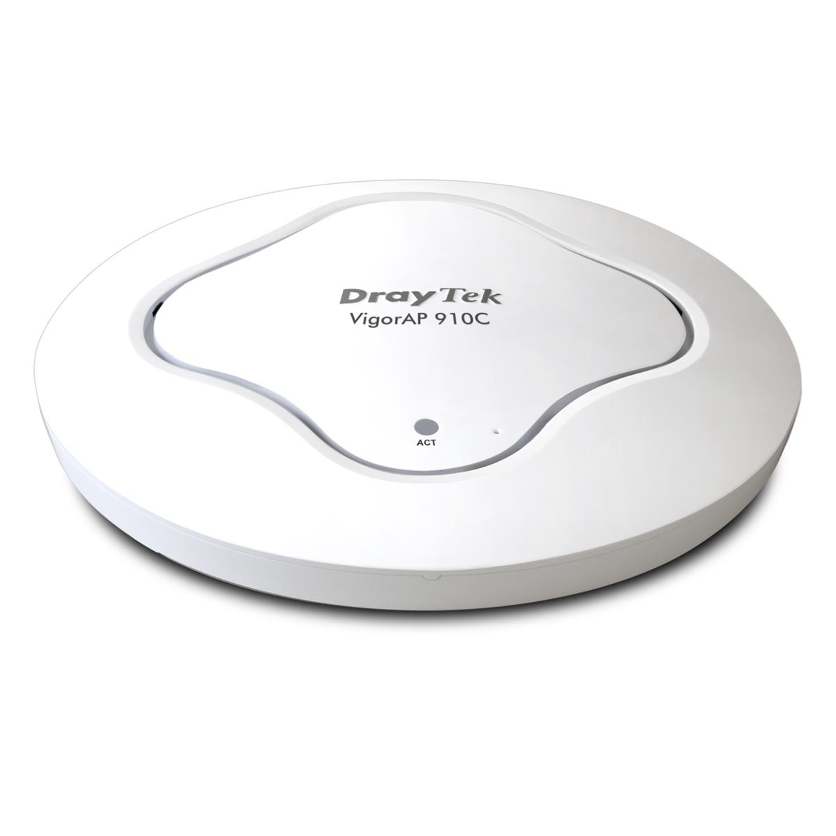 DrayTek Vigor AP-910C Simultaneous Dual-Band WiFi PoE Access Point