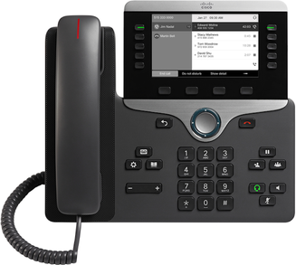 Cisco 8811 IP Phone 5 line / 5 SIP Account (SIP ONLY)