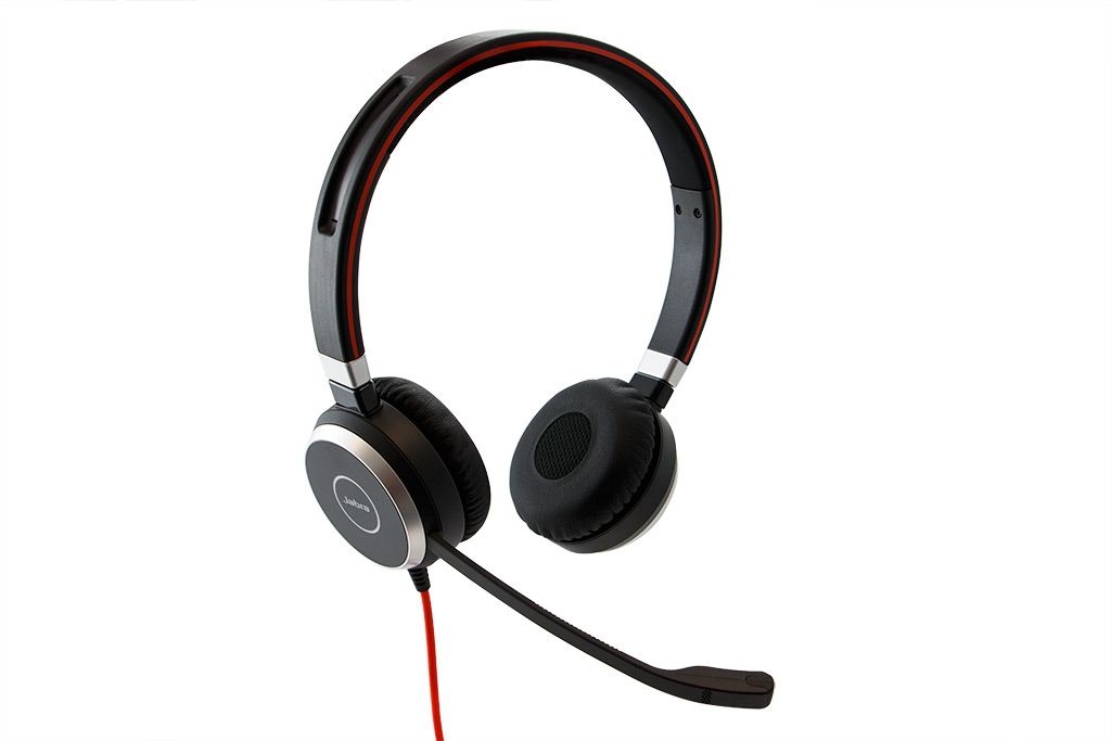 Jabra Evolve 40 Wired UC Duo Headset