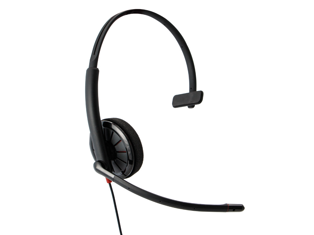 Plantronics Blackwire C310-M monaural USB headset for PC or Mac