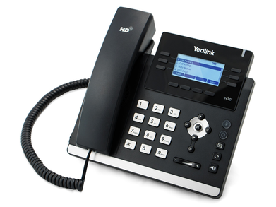 Yealink SIP-T42G HD IP Phone 12 Line / 3 Account, SIP/ VoIP IP Phone