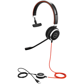 Jabra Evolve 40 MS Mono Wired Headset