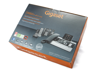 Siemens Gigaset DX800 Dual IP and Analogue Deskphone - Reduced