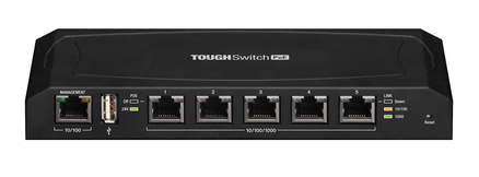 Ubiquiti ToughSwitch 5-port Pro POE Gigabit Switch - Reduced