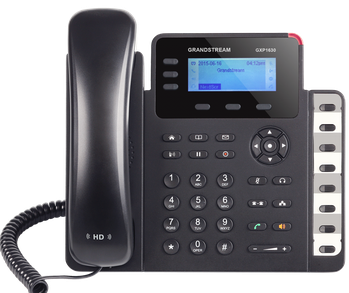 Grandstream GXP 1630 3 Line/ 3 Account SIP VoIP IP Phone